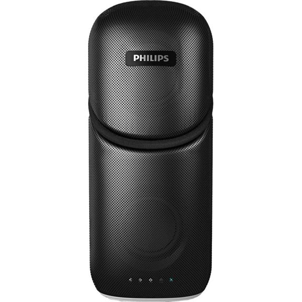 Philips IN-BT112/94 Portable Bluetooth Mobile/Tablet Speaker  (Black, Stereo Channel)