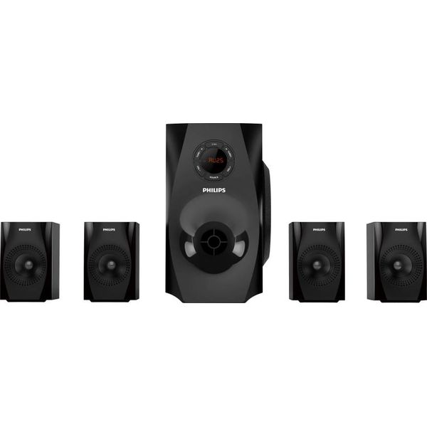 Philips SPA8150B Bluetooth Home Audio Speaker  (Black, 4.1 Channel)