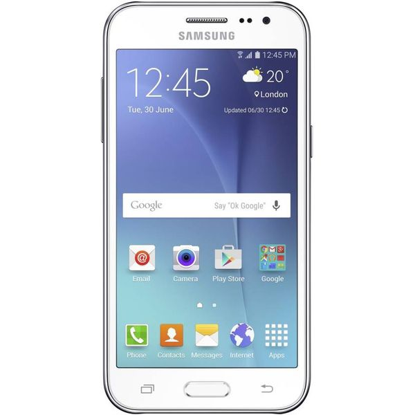 SAMSUNG Galaxy J2 (White, 8 GB) (Unboxed)