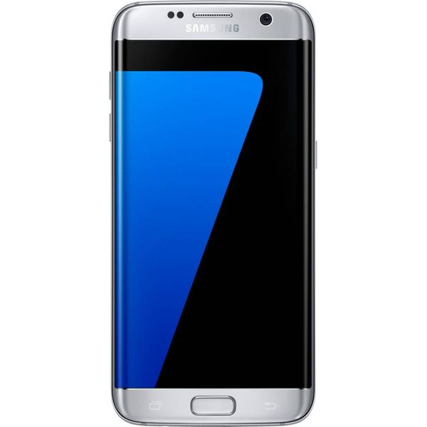 SAMSUNG Galaxy S7 Edge (Silver Titanium, 32 GB) Unboxed