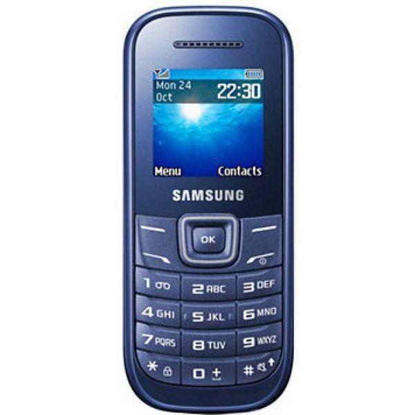 Samsung Guru GT-E1200 (Indigo Blue) (Unboxed)