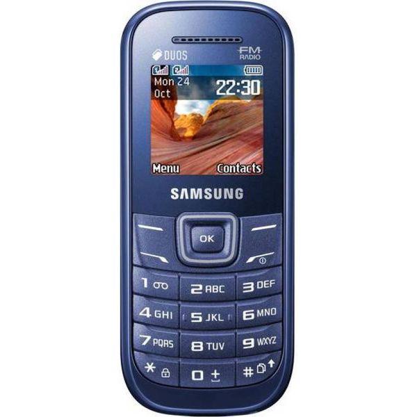 Samsung Guru FM Plus B110E (Blue)
