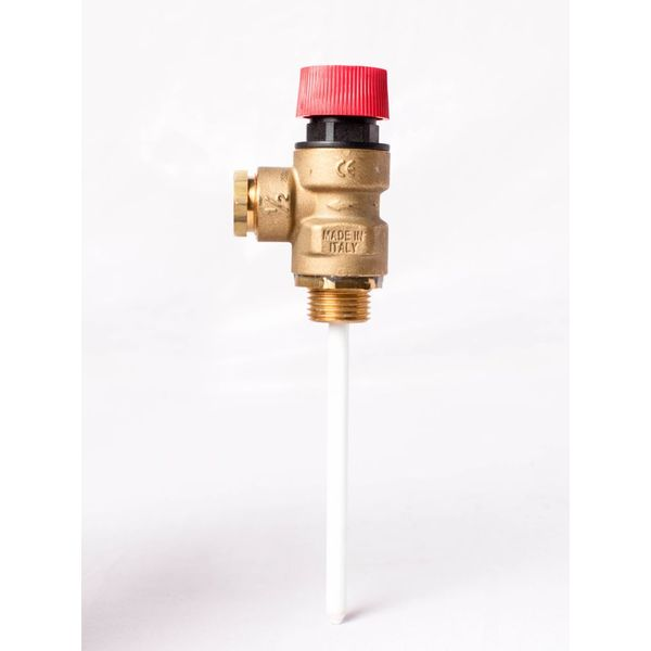 TBS 1218 Double Function Safety Valves 15 mm Brass