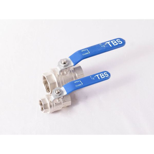 TBS 2211 Brass Ball Valve 65 mm Brass