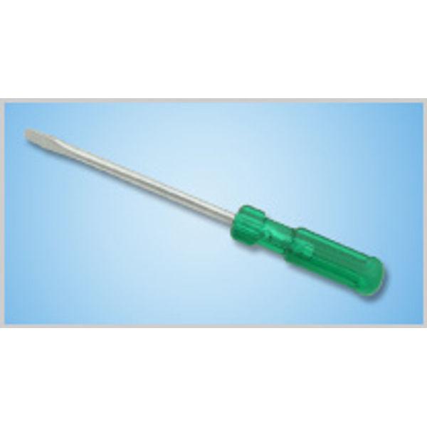 Taparia Flat Screw driver Design177211, 825, Tip Description: 6.0x0.8 mm, Blade Length: 200, Blade Diameter: 6