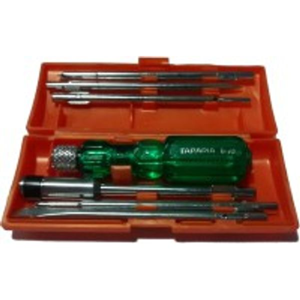 Taparia, Screw Driver Sets, Design No. 180673, Product No, 840