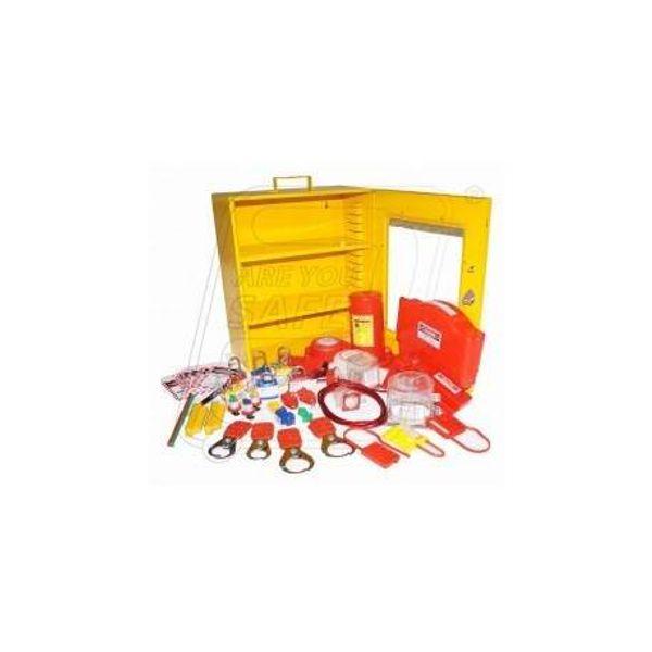 Aktion Safety AK-KIT-207 Loto Plant and Machinery Lockout Kit