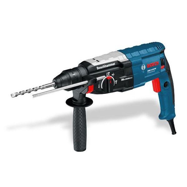 Bosch Rotary Hammer Drill, GBH 3-28 DV,28 MM,2.90 kg,0 - 1300 RPM,850 W