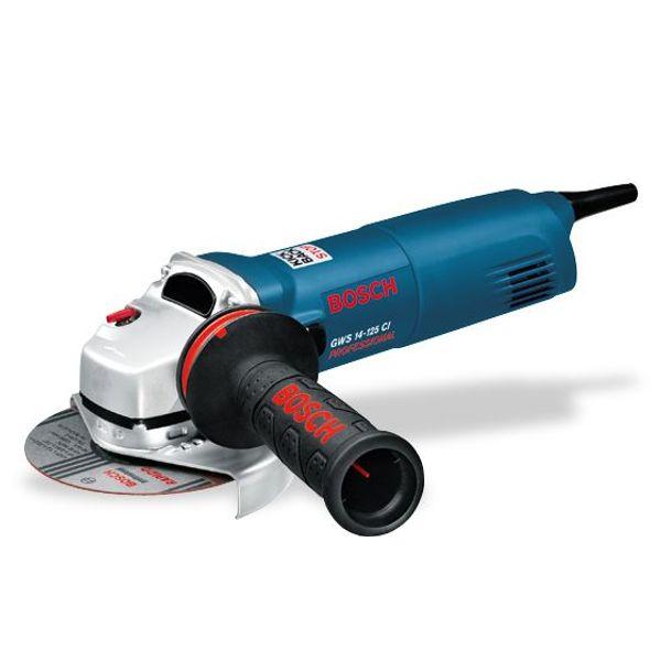 Bosch Small Angle Grinders, GWS 14-125 CI, 1400 W, 11000 RPM