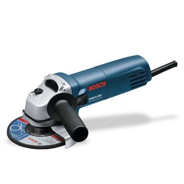Bosch Small Angle Grinders, GWS 6-100, 670 W, 11000 RPM