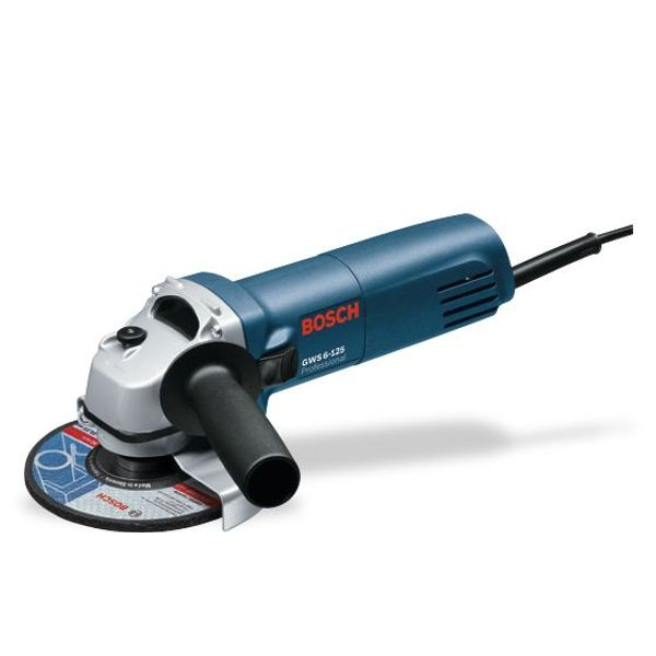 Bosch Small Angle Grinders, GWS 6-125, 670 W, 11000 RPM