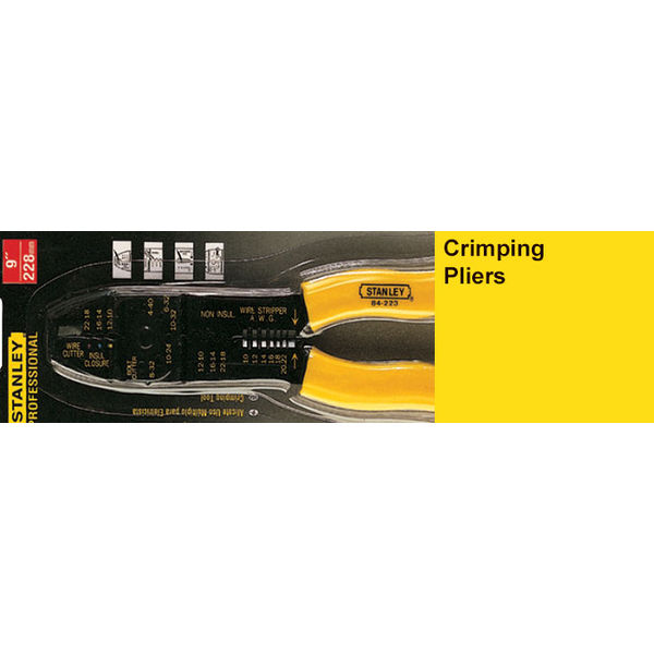 Stanley,Crimping Pliers 84-223-22