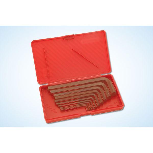 Taparia,  Allen Keys Set(Inch Sizes) Brown Finish Hanger Packing, AKHI 10