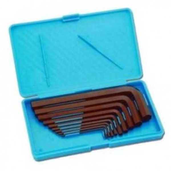 Taparia,  Allen Keys Set(mm Sizes) Brown Finish Box Packing, AKM-9