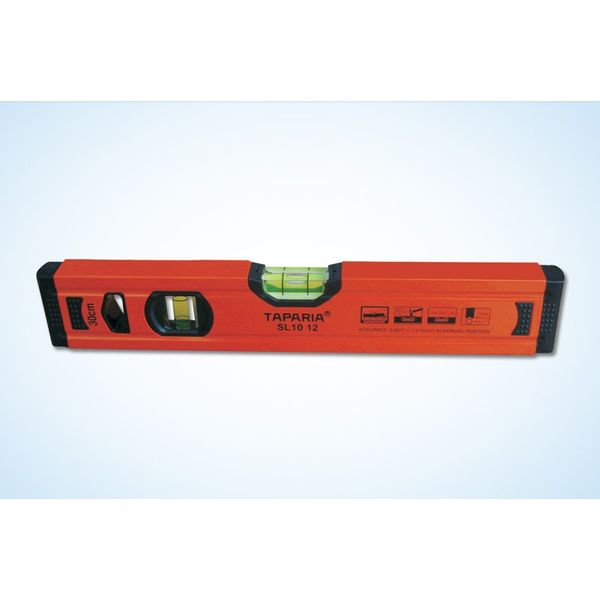 Taparia Spirit Level(1.0mm accuracy, without magnet),, Size: 12