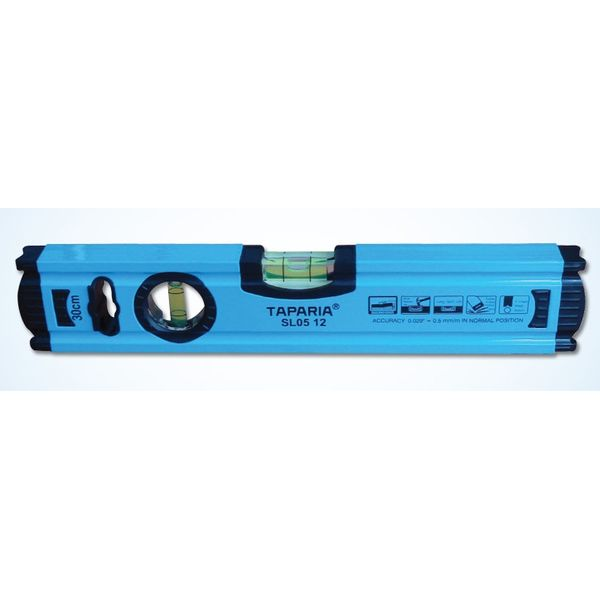 Taparia Spirit Level(0.5mm accuracy, without magnet),Size: 12
