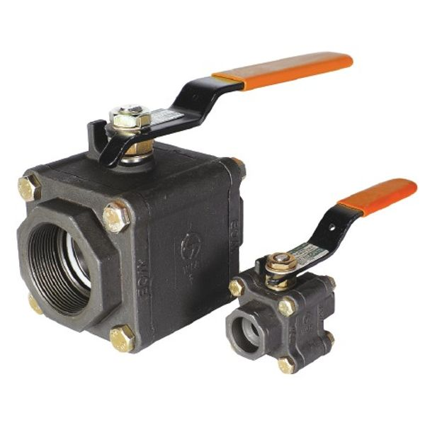 L&T Ball Valve L6RSWC 15 mm Cast Steel