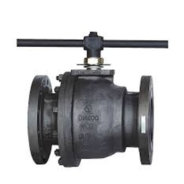 L&T Ball Valve L2FF1S 50 mm Stainless Steel