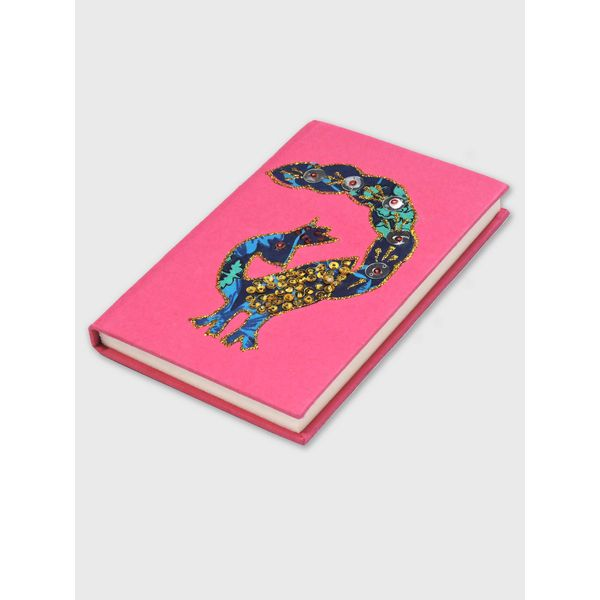 Beautiful Handcrafted Journal , Peacock Design