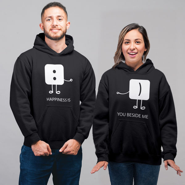 940b1b5bc1 Cheapest Couple Hoodies | 100% Cotton | iberry's