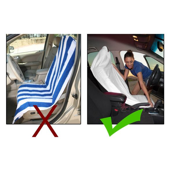 Grey Car Foot Mats For Toyota Etios Liva Buy: Buy Speedwav Sweat Control White Towel Seat Covers Online