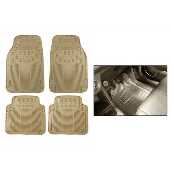 Grey Car Foot Mats For Toyota Etios Liva Buy: Buy Speedwav Rubber Car Floor/Foot Mats-Beige Online At