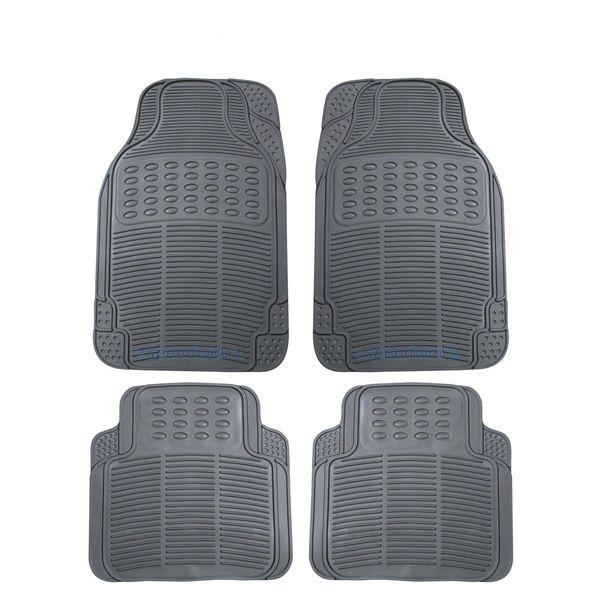 Grey Car Foot Mats For Toyota Etios Liva Buy: Buy Speedwav Rubber Car Floor/Foot Mats-Grey Online At Low