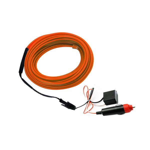 buy speedwav car interior ambient wire decorative led light orange online at low price tvs. Black Bedroom Furniture Sets. Home Design Ideas