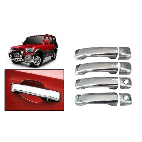 Buy Speedwav Chrome Car Door Handle Covers Set Online At