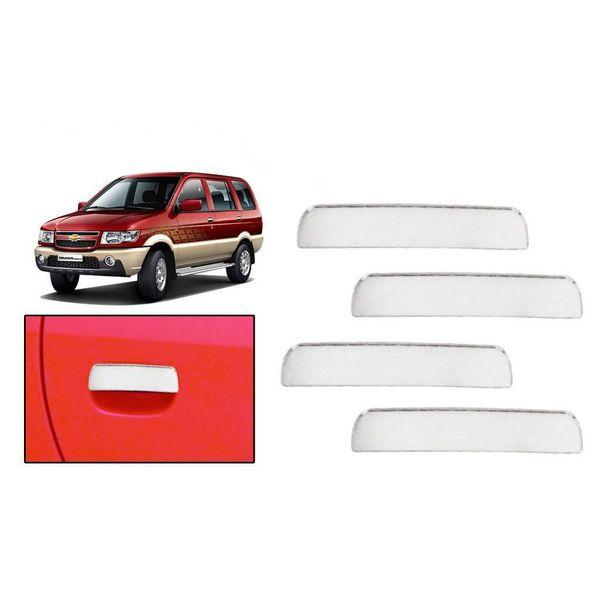 Buy Speedwav Chrome Car Door Handle Covers Set Online At Low Price Tvs Accessories