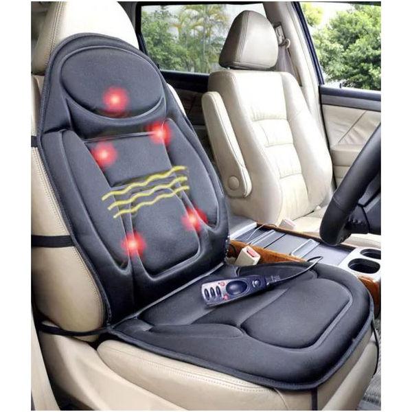 Buy Speedwav Car Seat Heat Massager Back Support Online at low price ...