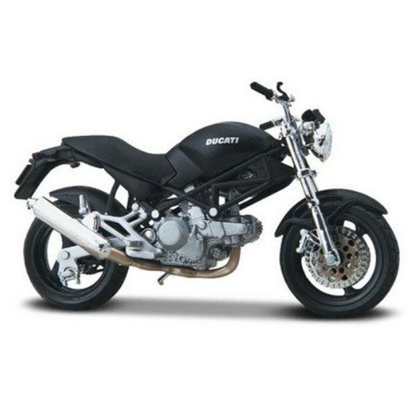 Maisto 118 Scale Die Cast Motorcycles Ducati Monster Dark Black 282447