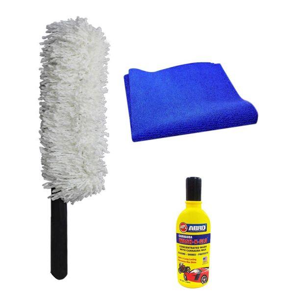 Microfiber Cloth Dusting: Buy Speedwav Car Cleaning Kit Long Microfiber Duster