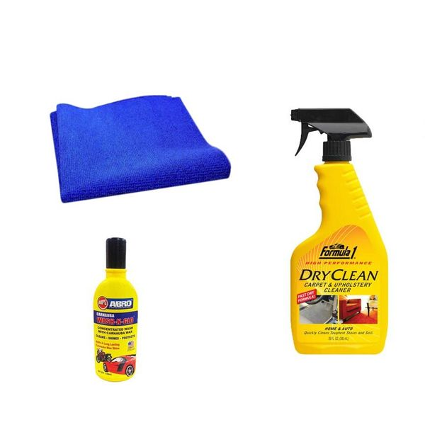 buy formula 1 car cleaning kit upholstery 592ml magic sponge abro shampoo online at low. Black Bedroom Furniture Sets. Home Design Ideas