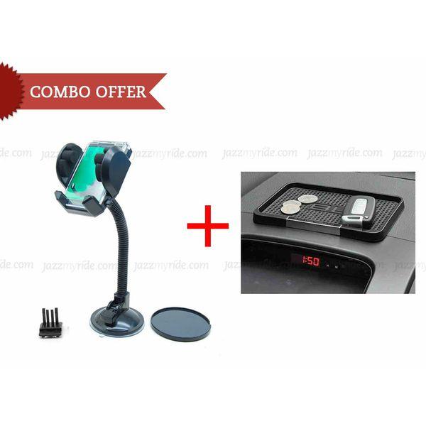 Buy Car Combo Fly Mobile Gps Holder Black Label