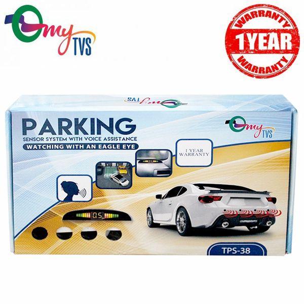 Buy MyTVS TPS-38 White Reverse Car Parking Sensor LED