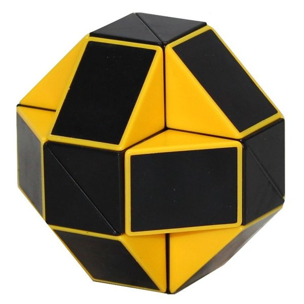 ShengShou Rubiks Snake Black Yellow f705da2d5cd5