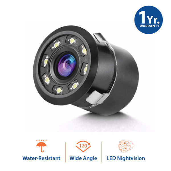 buy mytvs 8 led night vison car rear view camera all cars at best price tvs accessories. Black Bedroom Furniture Sets. Home Design Ideas