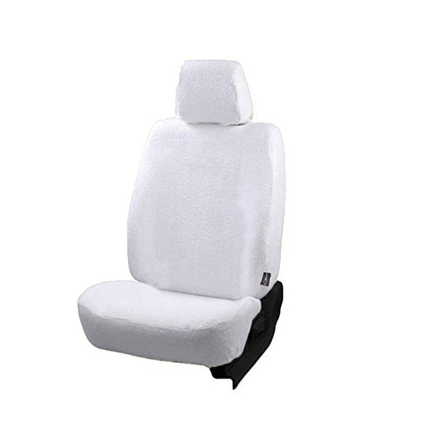Peachy Pure Cotton Towel Seat Covers For Kia Seltos 2019 Onwards White Color Complete Set For All Seats Alphanode Cool Chair Designs And Ideas Alphanodeonline