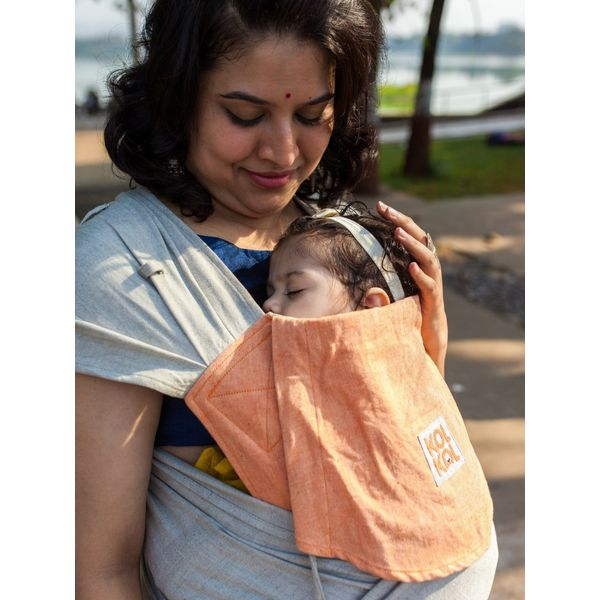 c39a0b712de Buy Meh Dai Peach Baby Carrier for front and back carries from birth ...
