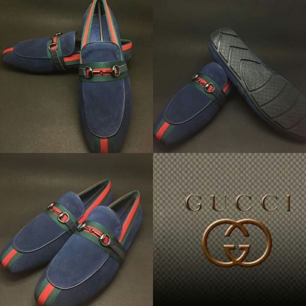 Replica Gucci Leather Loafers