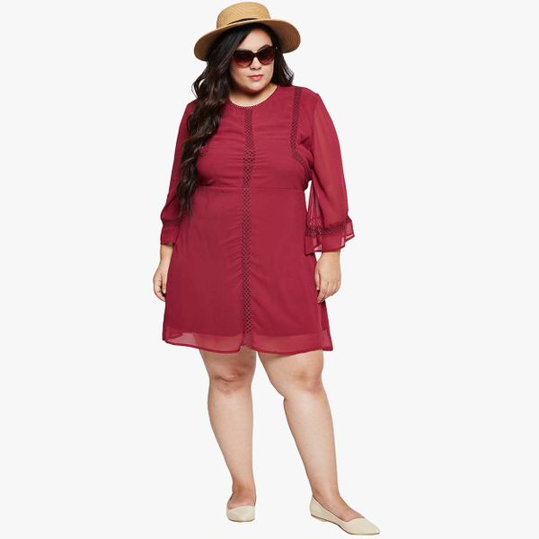 a9fffc170c2 Marooney Boon Curvy Skater Plus Dress. Please select your product size