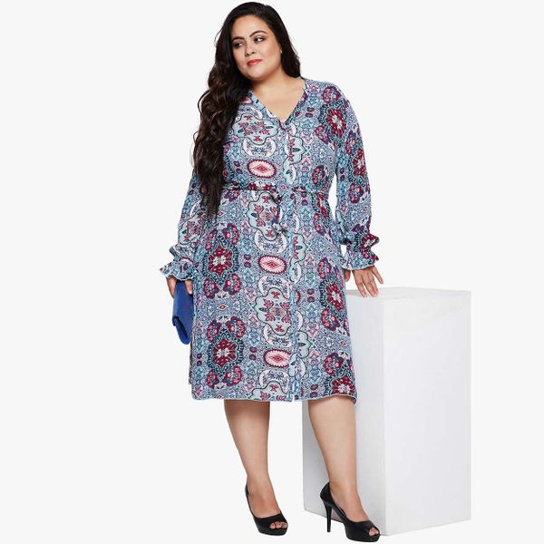 a45cb7fc012 Abstract Loco Glam Curvy Plus Dress. Please select your product size