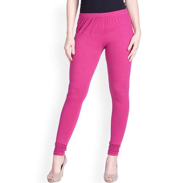4778ca9854ecb Lux Lyra Silk Churidar legging Romantic Rani (Free Size) for Women
