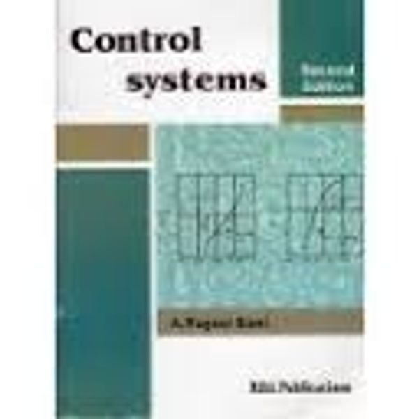 Control Systems Book By Nagoor Kani Pdf