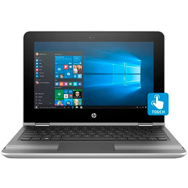 HP Pavilion x360 11-u005tu (2 in 1) (W0J55PA) (Core i3 (6th Gen)/4 GB/29.46 cm (11.6)/Windows 10 Home/ (Silver)