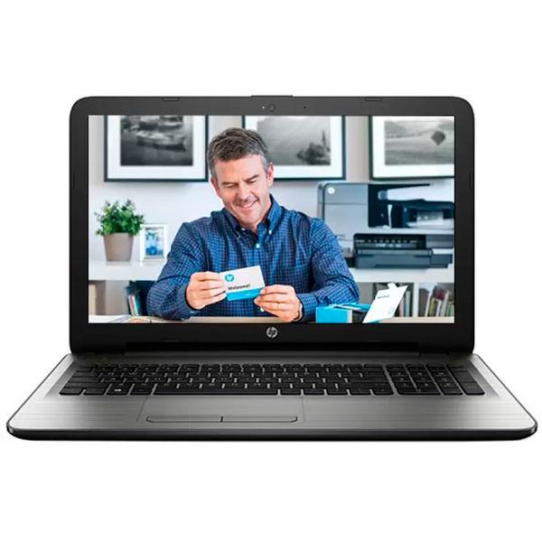 HP15-AY019TU Notebook (W6T33PA) (5th Gen Intel Core i3- 4GB RAM- 1TB HDD- 39.62 cm (15.6)- DOS) (Silver)