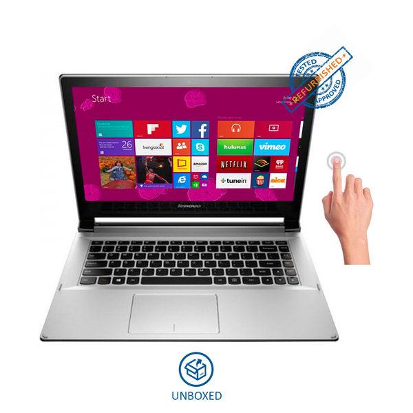 Lenovo Ideapad Flex 2-14 (59-429728) Notebook (4th Gen Core i3- 4GB RAM- 500GB HDD+8GB SSD- 35.81cm (14.1) TS- Win 8.1 (Unboxed)