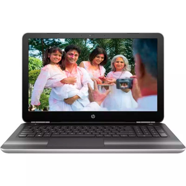HP Core i5 7th Gen - (8 GB/1 TB HDD/Windows 10 Home/2 GB Graphics) Z4Q39PA#ACJ 15-AU620TX Notebook  (15.6 inch, Natural SIlver, 2.03 kg)
