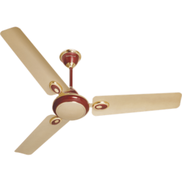 Havells Fusion Beige Wine 1200 mm 3 Blades Red Ceiling Fan FHCFUSTWRD48